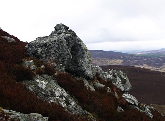 Boulders, South Ridge, Carn Geal