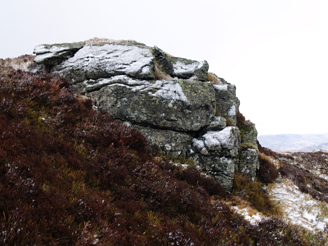 Small outcrop, Carn Geal