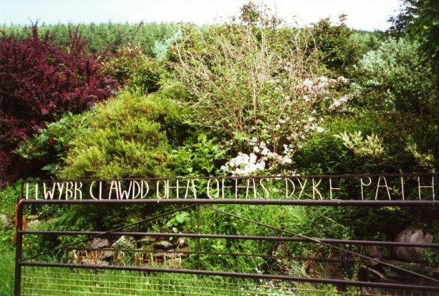Llwybr Clawdd Offa - Offa's Dyke Path