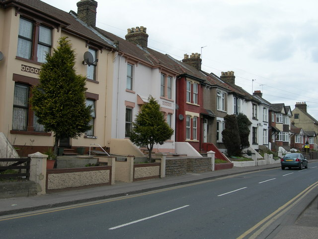 Houses on Cuxton Road, Strood