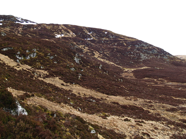 Eastern slopes, Carn Geal