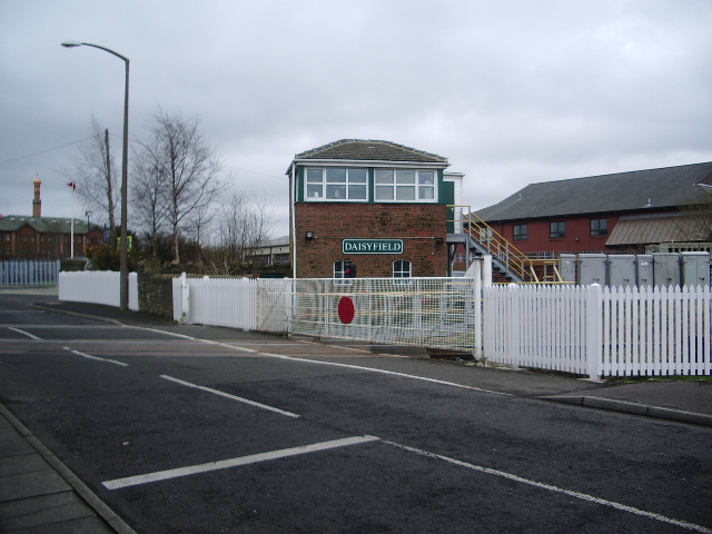 Daisyfield Level crossing