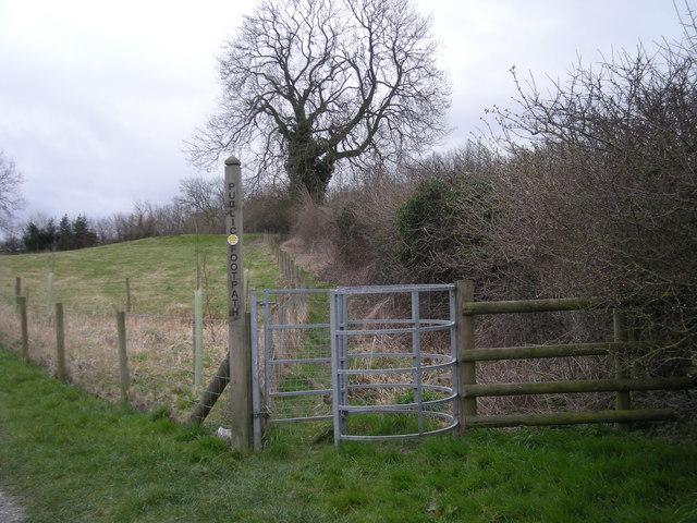 Kissing Gate & Footpath