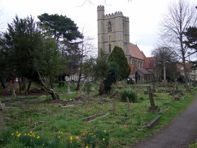 Churchyard of St Mary and St John