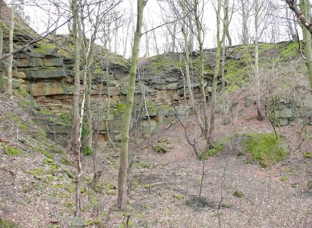 Quarry off Woodhead Road, Taylor Hill, Almondbury