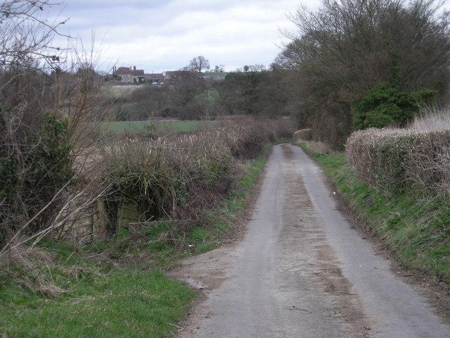 The lane to Wyke