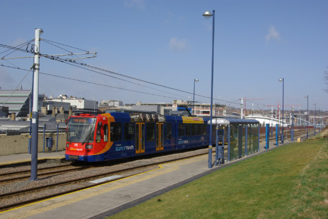 Sheffield Station Tram Stop