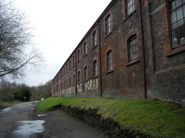The tile works & the road to Jackfield