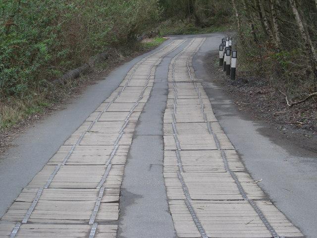 The lane to Jackfield
