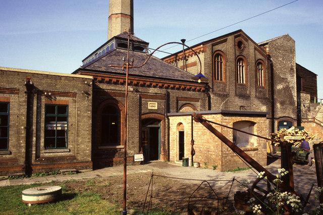 Cheddars Lane sewage pumping station