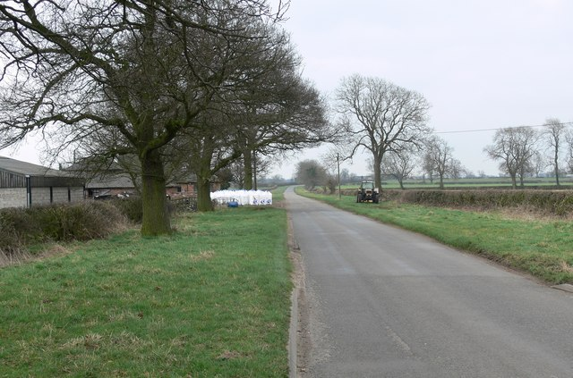 Oak Farm along Ullesthorpe road