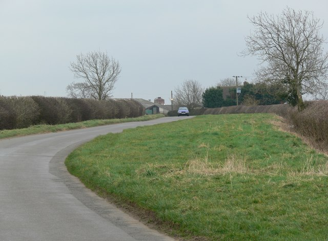 Ullesthorpe Road in Leicestershire