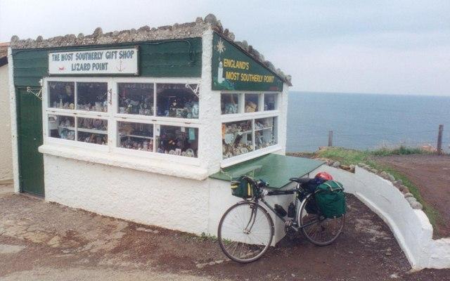 My bike at Lizard Point