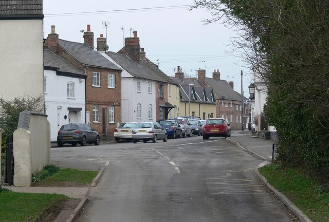 View towards Main Street in Gilmorton