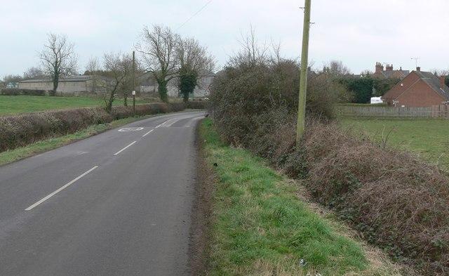 Ashby Road towards Gilmorton