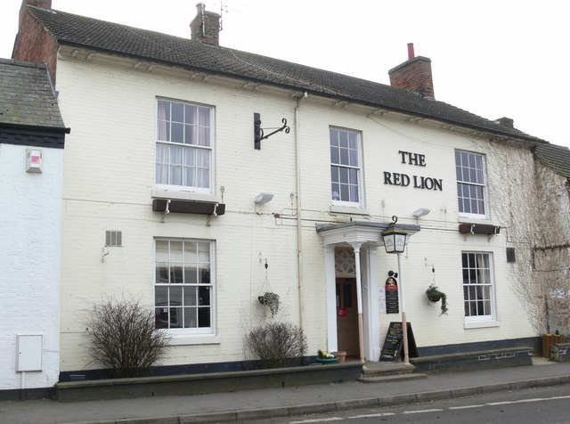 The Red Lion Pub in Gilmorton