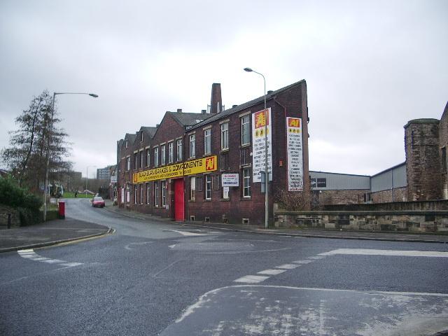 Cob Wall Works, Blackburn