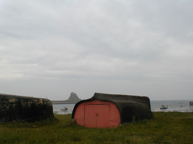 Sheds near the beach