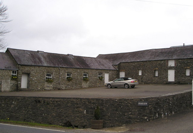 Outbuildings at Penrhiw