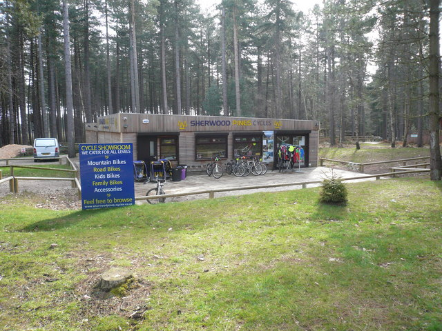 Sherwood Pines Forest Park - Cycle Hire