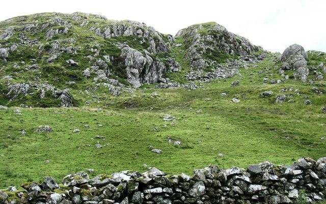 Crag above Bwlch Goriwaered