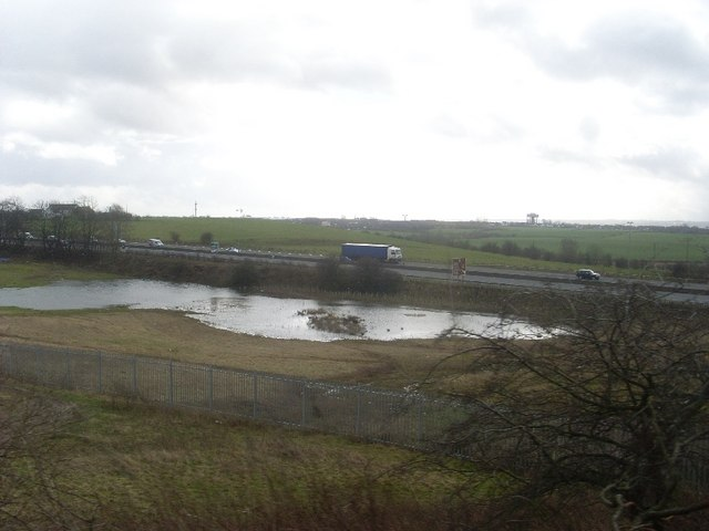 A8 near Coatbridge