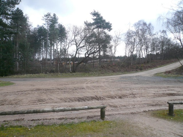 Sherwood Pines Forest Park - Track Junction