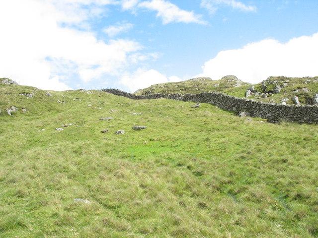 The Rhobell Fawr path from Bwlch Goriwaered