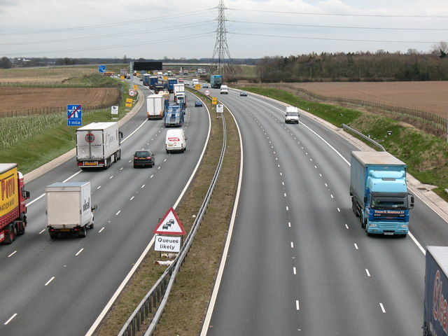 A1[M] north of Wetherby