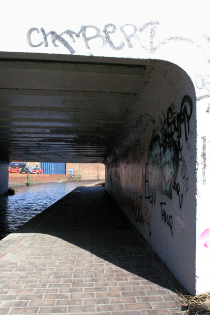 Towpath under Brace Factory Bridge