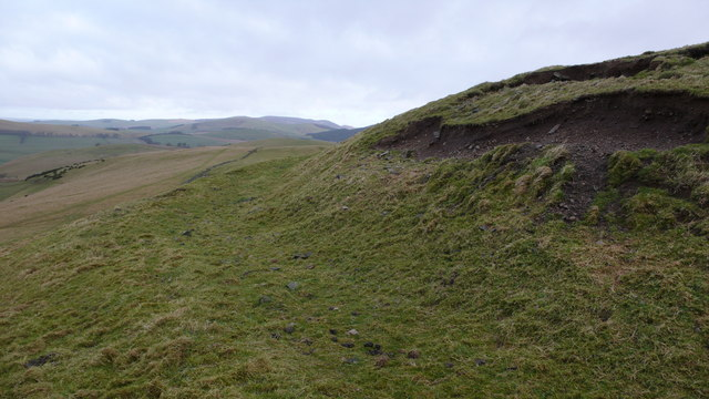 Hill fort earthworks