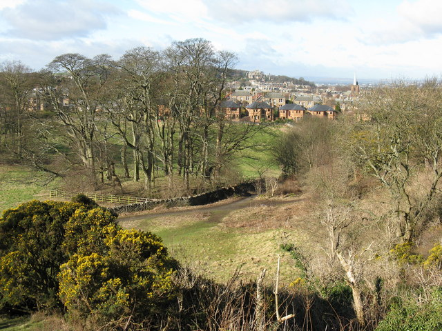 Looking west from Blackford Hill