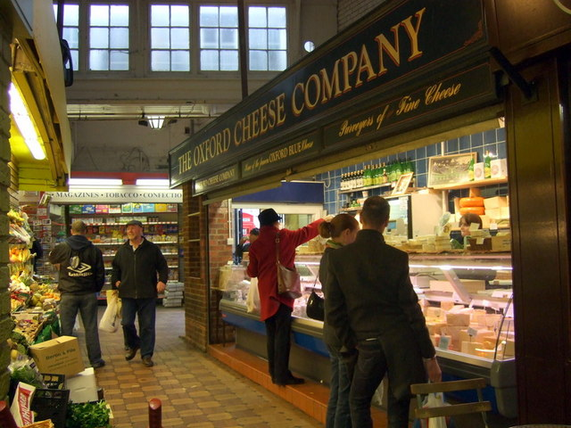 Cheesemonger in the Covered Market