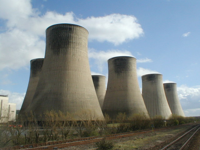 Ratcliffe Power Station cooling towers