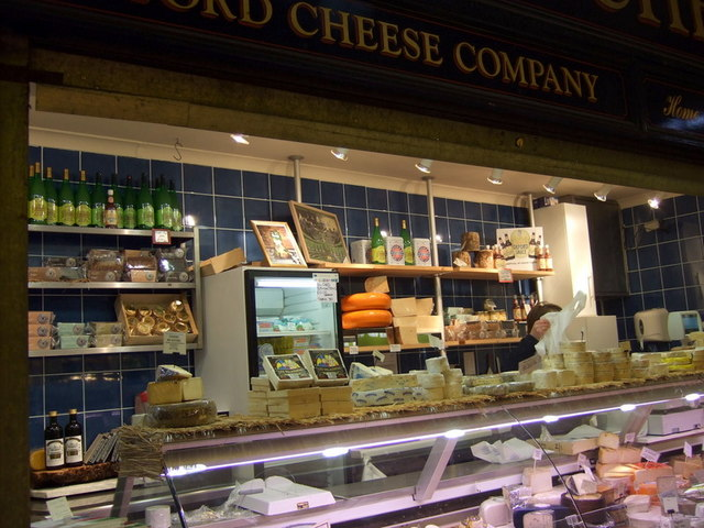 Cheese in the Covered Market