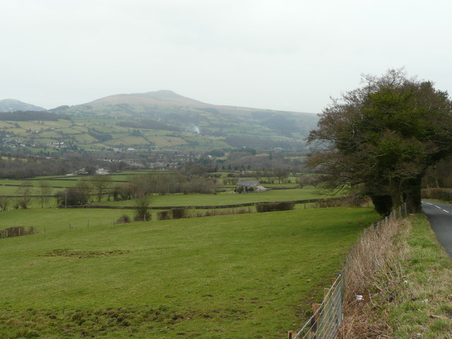 Pastures of the Usk valley