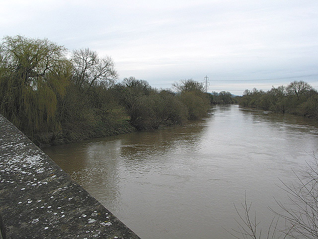 River Severn from Maisemore Bridge