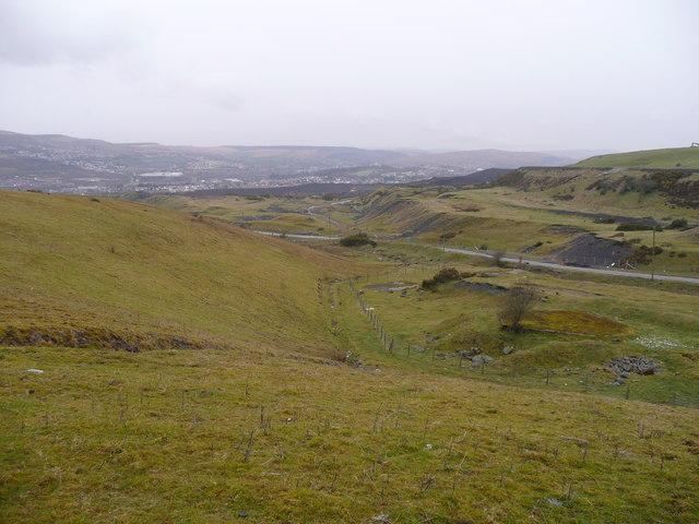 Hillside above Merthyr