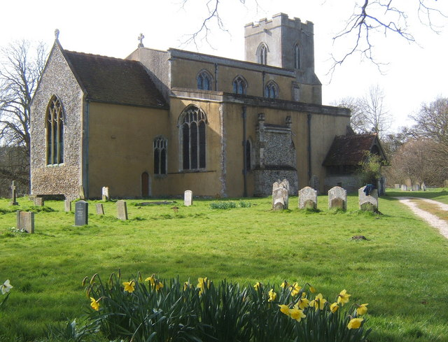 All Saints Church, Chelsworth
