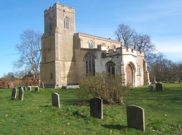 All Saints Church, Chelsworth
