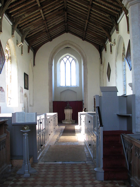 St Margaret's church - view west