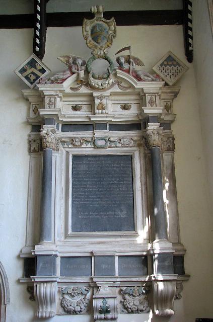 St Margaret's church - memorial