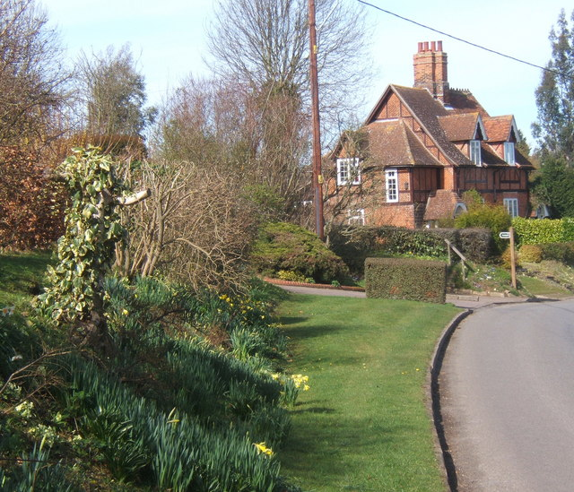Laneside gardens and Red Cottages, near Brent Eleigh