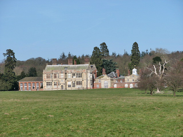 View towards Felbrigg Hall