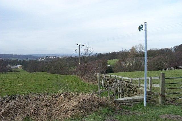 Footpath to Kirkburton