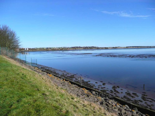 River Eden estuary at Guardbridge