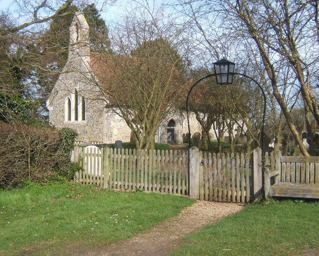 St Peter's Church, Milden