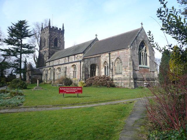 Alfreton - The Parish Church of St. Martin