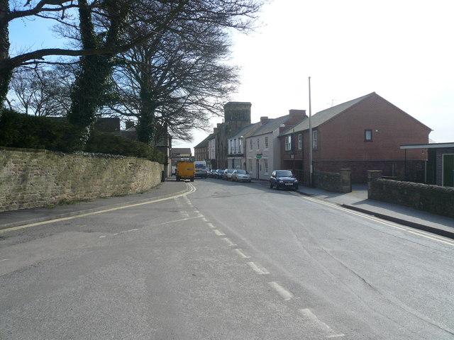 Alfreton - Church Street View