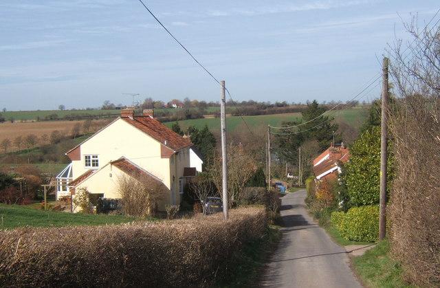 Swingleton Hill lane